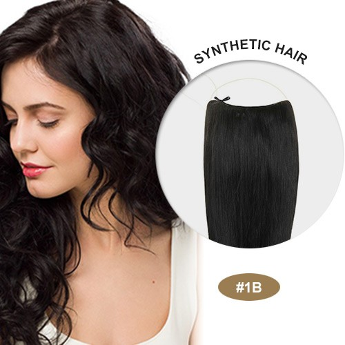 """COCO Synthetic Secret Hair 16"""" Natural Black(#1B)"""