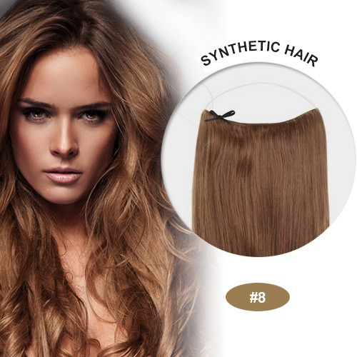"""COCO Synthetic Secret Hair 16"""" Ash Brown(#8)"""