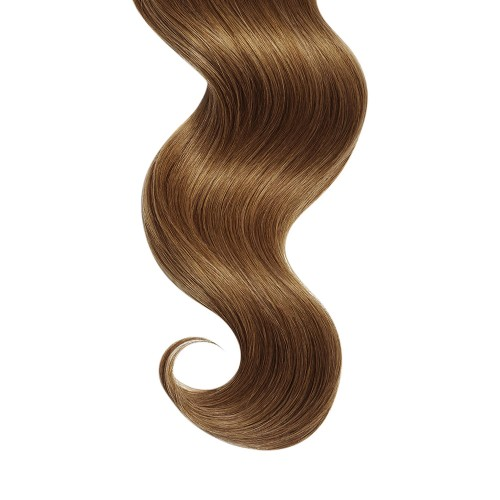 "22"" Golden Brown(#12) 7pcs Clip In Human Hair Extensions"