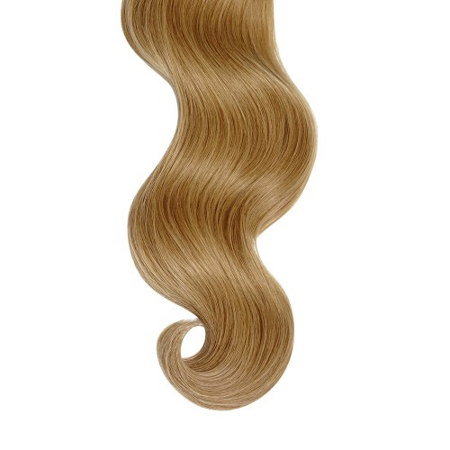 "18"" Golden Blonde(#16) 7pcs Clip In Human Hair Extensions"