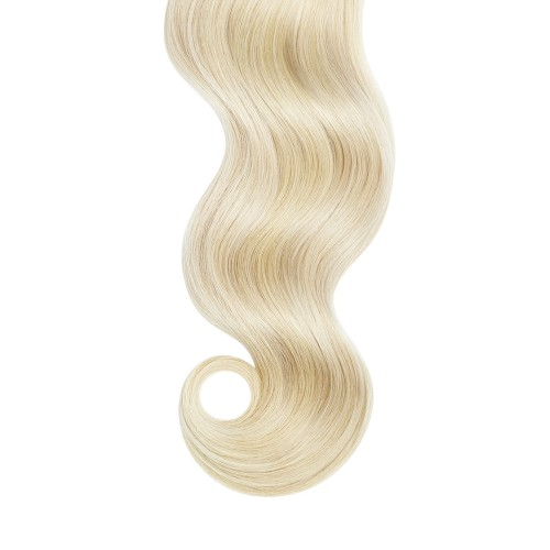 "26"" Bleach Blonde(#613) 7pcs Clip In Human Hair Extensions"