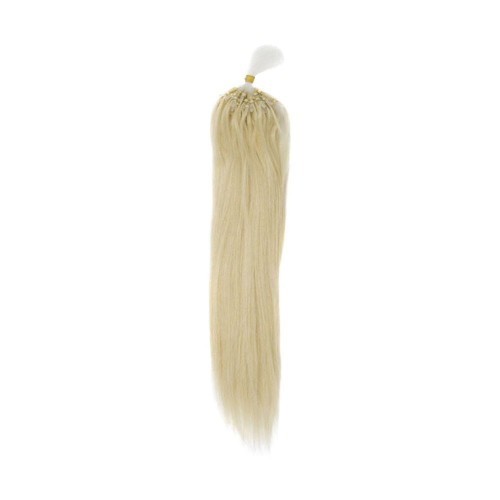 "22"" Bleach Blonde(#613) 100S Micro Loop Remy Human Hair Extensions"