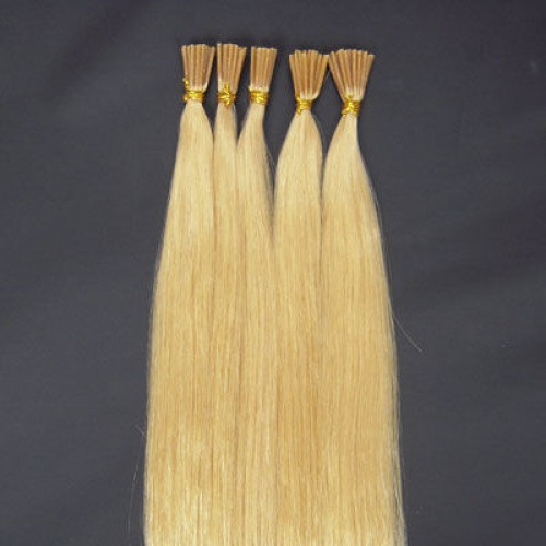 "20"" Bleach Blonde(#613) 100S Stick Tip Remy Human Hair Extensions"