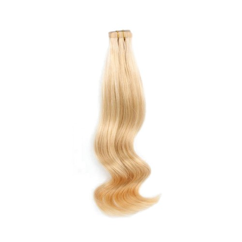 "26"" Golden Blonde(#16) 20pcs Tape In Human Hair Extensions"