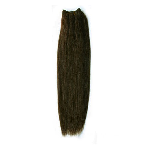 "18"" Dark Brown(#2) Light Yaki Indian Remy Hair Wefts"