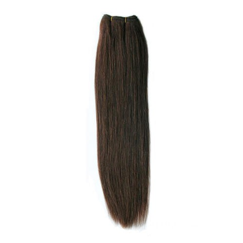 "10"" Medium Brown(#4) Straight Indian Remy Hair Wefts"