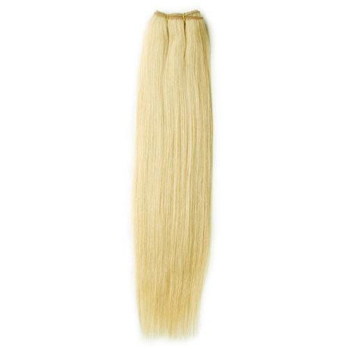 "16"" Ash Blonde(#24) Straight Indian Remy Hair Wefts"
