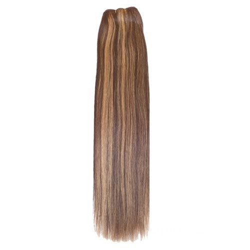 "12"" Brown/Blonde(#4/27) Straight Indian Remy Hair Wefts"