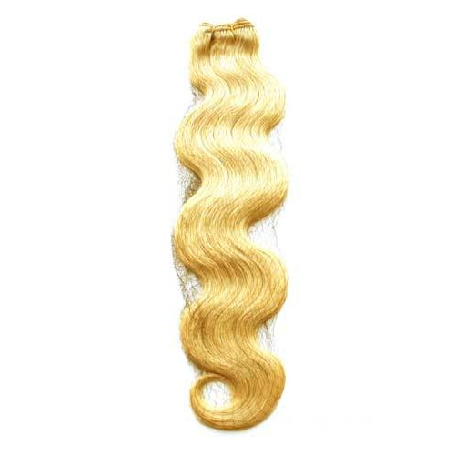 "18"" Ash Blonde(#24) Body Wave Indian Remy Hair Wefts"