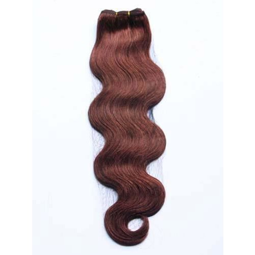 "16"" Dark Auburn(#33) Body Wave Indian Remy Hair Wefts"