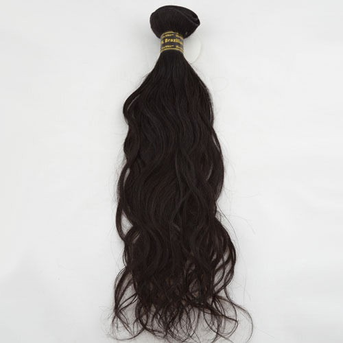 "18"" Dark Brown(#2) Natural Wave Indian Remy Hair Wefts"
