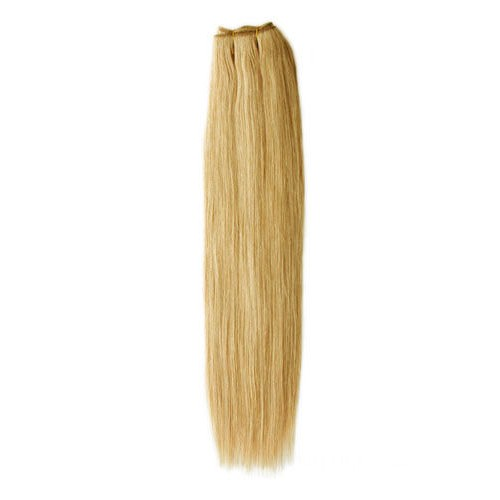 """10"""" Golden Brown(#12) Straight Indian Remy Hair Wefts"""