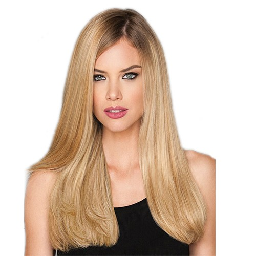 "18"" Dirty Blonde(#18) 7pcs Remy Clip In Hair Extensions-KINGHAIR"