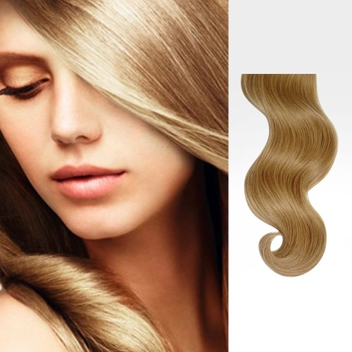 "213"" Golden Blonde(#16) 7pcs Clip In Synthetic Hair Extensions"